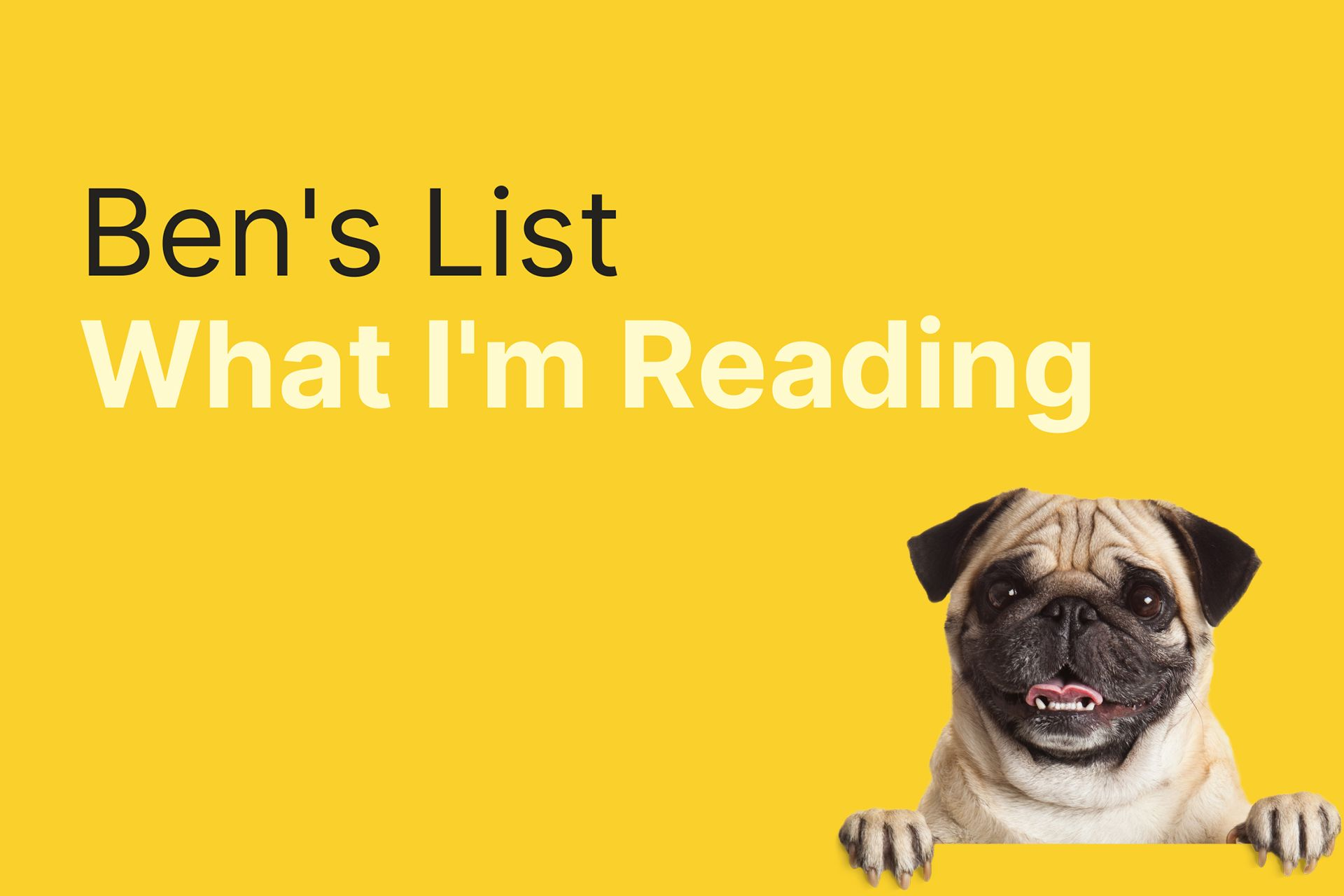 Ben's List