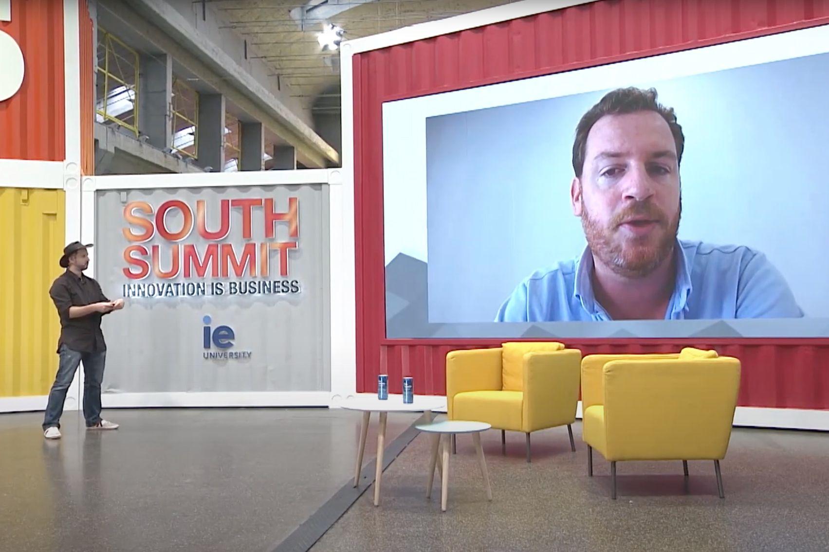 Alex Barrera hosting South Summit 2020